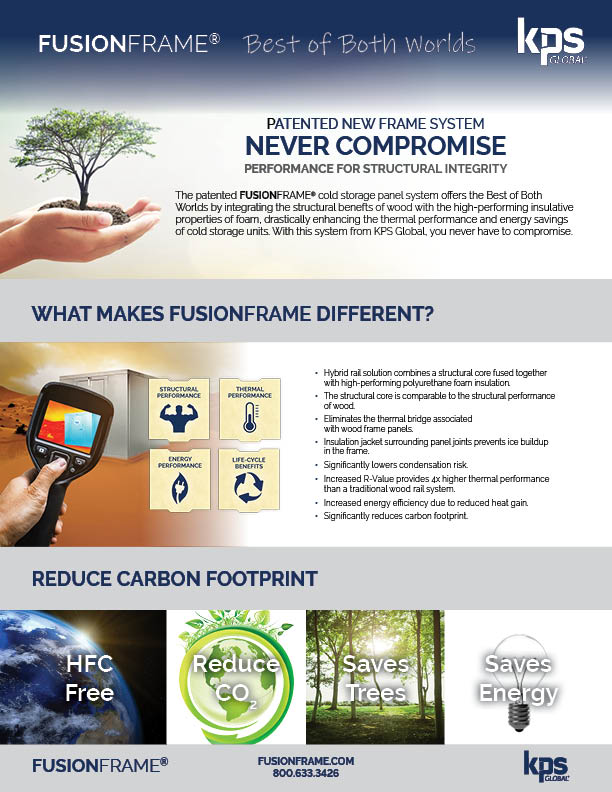 reduce carbon footprint with FUSIONFRAME