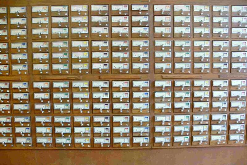 Card Catalog Image for Organizing your walk-in cooler or freezer Blog