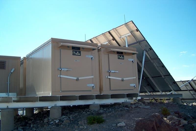 solar power walk-in