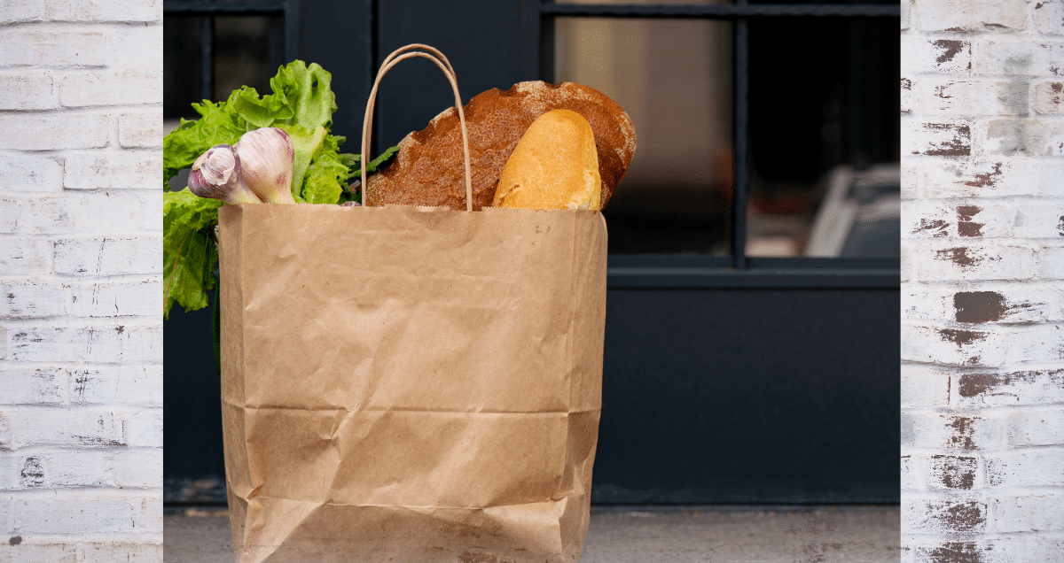 bag of groceries for blog on ecommerce grocery