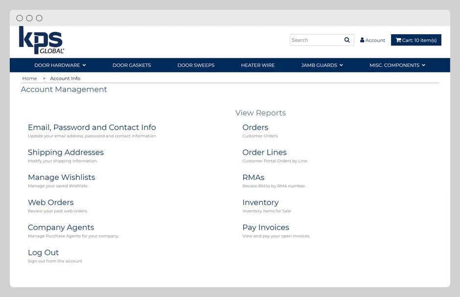 B2B - Account Management