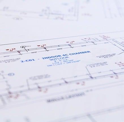 Indoor chamber blueprint