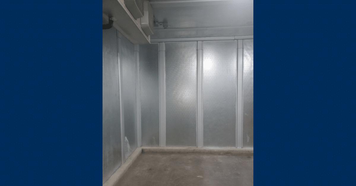 Batten Strips in Walk-in