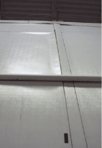 Damaged Panel Joints