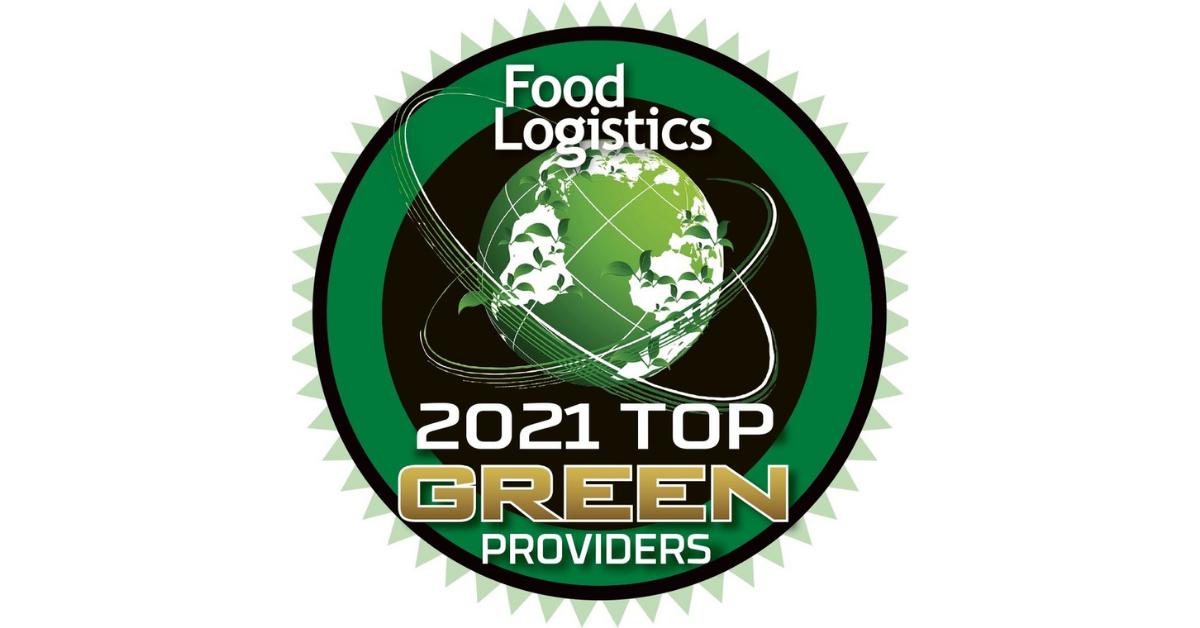 2021 Top Green providers Food Logistics