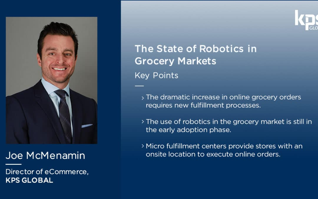 The State of Robotics in Grocery Markets