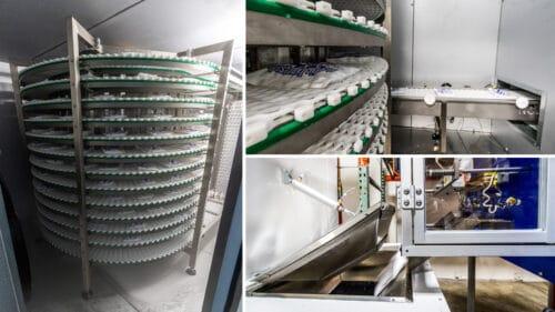 Artic Gel Pack Freezer System Collage
