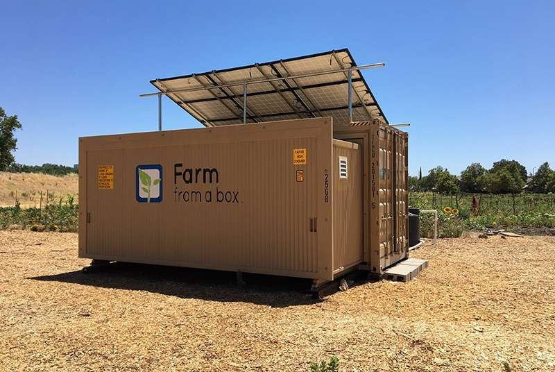 KPS Global Provides Cold Storage Solution to Farm from a Box