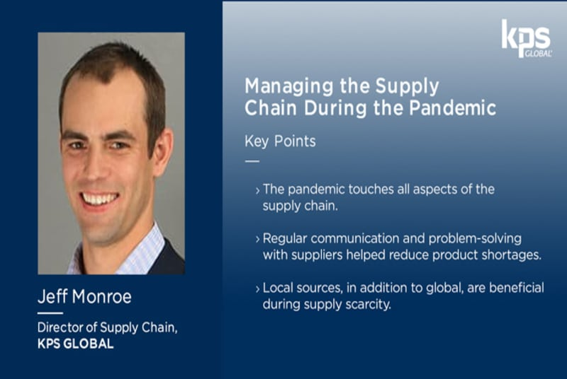 Managing the cold storage supply chain during the pandemic