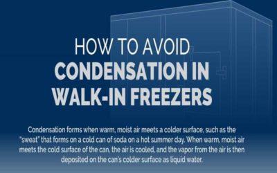 How to Avoid Condensation in Walk-In Freezers