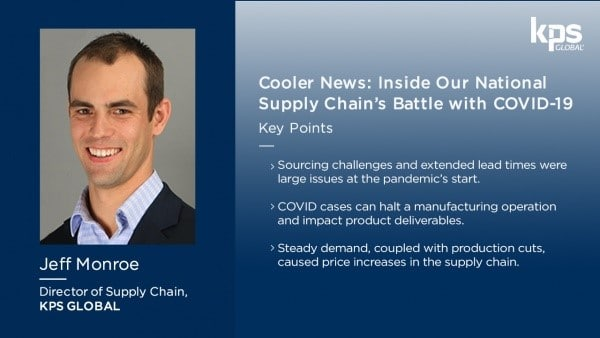 Cooler News: The Nation's Supply Chain Continued Impact from COVID-19