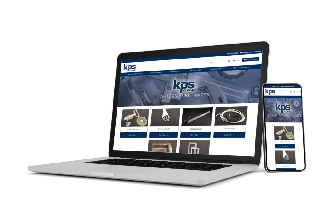 KPS Global is Proud to Offer Best in Class Aftermarket Walk-In Replacement Parts Through our Self-Serve Parts Website