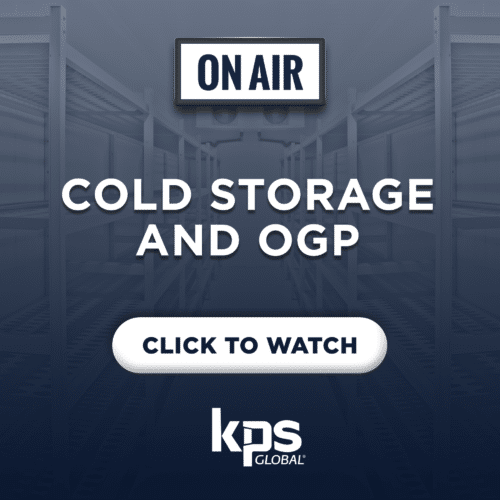 OGP and Cold Storage