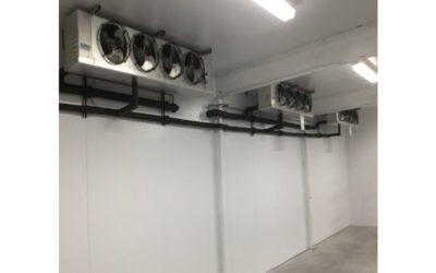 Can I convert my walk-in cooler into a walk-in freezer?