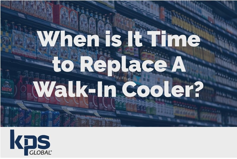 replace a walk-in cooler