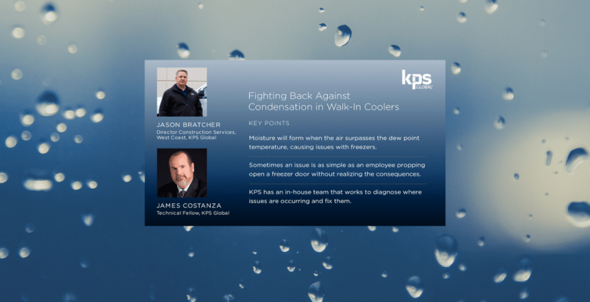 podcast image on condensation in walkins