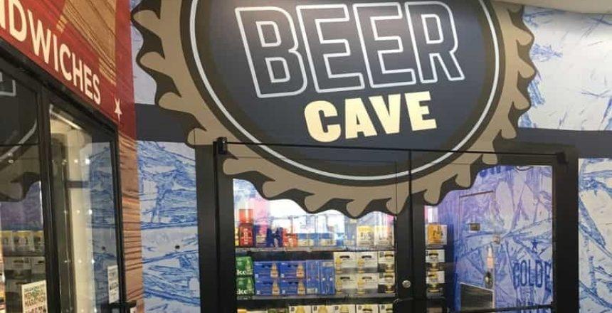 beer cave walk in