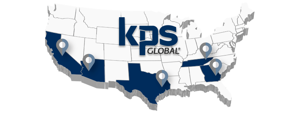 KPS Global US Locations Map