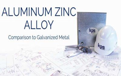 Comparing Aluminum-Zinc Alloy to Galvanized Metal